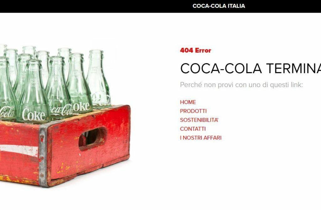 error 4040 not found coca cola