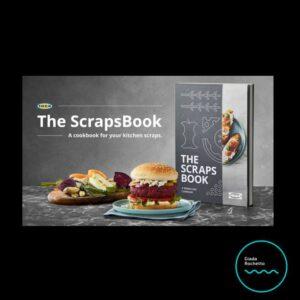 Scrapsbook Ikea ricettario antispreco no agli scarti in cucina Giada Rochetto
